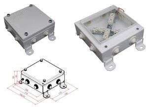 КМ-О (16к)-IP54-1515, восемь вводов | Коробка монтажная огнестойкая