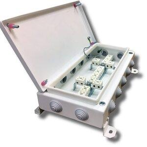 КМ-О (28к)-IP54-1530, 14 вводов | Коробка монтажная огнестойкая