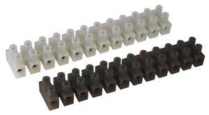 Клеммник 12х2х4, полипропилен (43212PL/B) | Клеммник