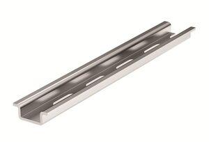 DIN-рейка перфорированная OMEGA 2F 15х5,5мм L=2м (02130)   DIN-рейка