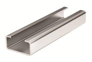 DIN-рейка с насечкой С1 30х15х16мм L=2м (02160)   DIN-рейка