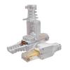 Коннектор 8P8C U/UTP Cat.5e (RJ-45) безынструментальный (10-0218) | Разъем