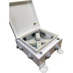 КМ-О (12к*6,0)-IP54-1212, 8 вводов   Коробка монтажная огнестойкая