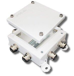 КМ-О (16к*10,0)-IP54-1515, 8 вводов | Коробка монтажная огнестойкая