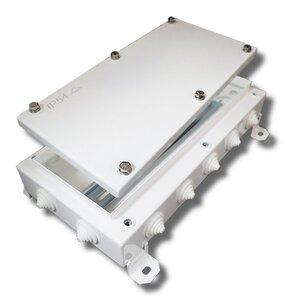 КМ-О (28к*10,0)-IP54-1530, 14 вводов   Коробка монтажная огнестойкая
