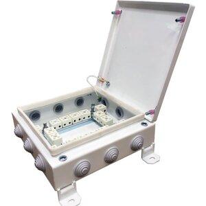 КМ-О (32к*10,0)-IP54-2020, 12 вводов | Коробка монтажная огнестойкая