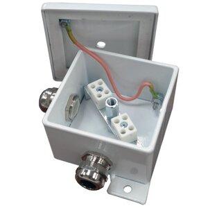 КМ-О (2к*10,0)-IP66, три ввода | Коробка монтажная огнестойкая