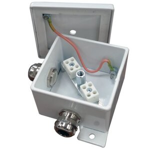 КМ-О (4к*10,0)-IP66, два ввода   Коробка монтажная огнестойкая