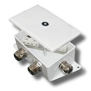 КМ-О (10к)-IP66-d, два ввода | Коробка монтажная огнестойкая
