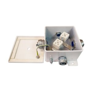 КМ-О (4к*10,0)-IP66-120х120, три ввода | Коробка монтажная огнестойкая