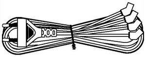 KL-FCRD-1F-EU-1.8-BK   Кабель межблочный