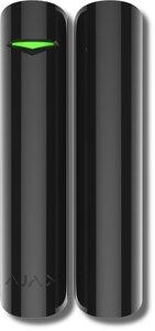 Ajax DoorProtect Plus (black) | Извещатель охранный точечный магнитоконтактный радиоканальный