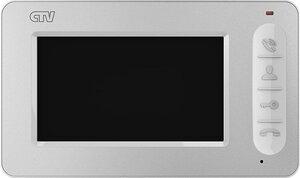 CTV-M400 (белый) | Монитор домофона цветной с функцией «свободные руки»