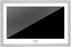 CTV-M4104AHD (белый) | Монитор домофона цветной с функцией «свободные руки»
