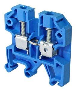 Зажим наборный ЗНИ-2,5 кв.мм синий (YZN10-002-K07) | Клеммник