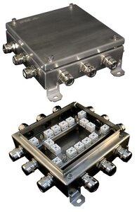 КМ-О (32к)-IP66-2020 нержавейка | Коробка монтажная огнестойкая