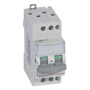 Выключатель-разъединитель DX3 3П 32A (406459) | Выключатель-разъединитель