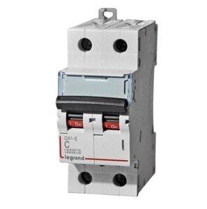 Автоматический выключатель DX3-E C6 2П 6000/6kA (407274) | Автоматический выключатель