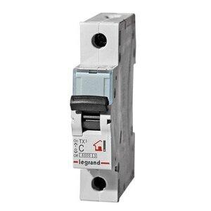 Автоматический выключатель DX3 1П С6A 6000/10kA (407666) | Автоматический выключатель
