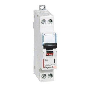 Автоматический выключатель DX3 1п+N C10А 6kA/10kA (407740) | Автоматический выключатель
