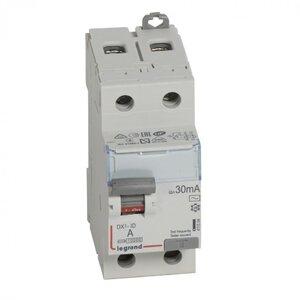 ВДТ DX3 2П 63А 30мА-AC (411506)   Выключатель дифференциального тока