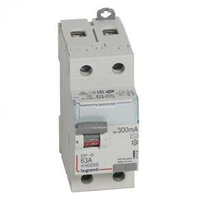 ВДТ DX3 2П 63А 300мА-AC (411526) | Выключатель дифференциального тока