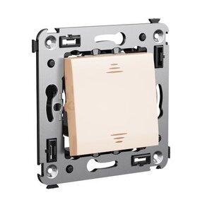 Переключатель одноклавишный в стену Avanti ванильная дымка (4405113)   Переключатель