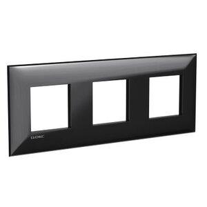 Рамка ARTLEBEDEV черный квадрат Avanti 6 модулей (4402906) | Рамка