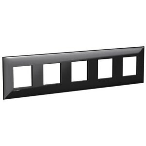 Рамка ARTLEBEDEV черный квадрат Avanti 10 модулей (4402900)   Рамка