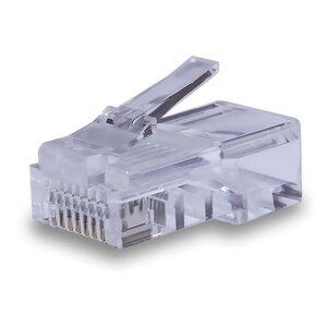 Коннекторы 8P8C UTP Cat.5e (RJ-45) (100шт) (10-0209)   Разъем