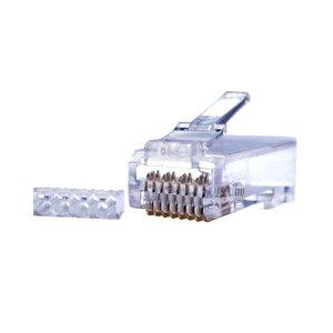 Коннекторы 8P8C UTP Cat.6 3U (RJ-45) (100шт) (10-0206) | Разъем
