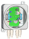 БПУ-2-220VAC-24VDC/2,0A ВБ | Источник питания