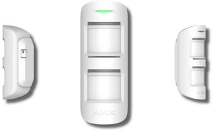 Ajax MotionProtect Outdoor (white) | Извещатель охранный оптико-электронный радиоканальный