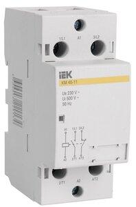 Контактор модульный КМ40-11 AC (MKK10-40-11) | Контактор модульный