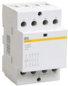 Контактор модульный КМ63-40 AC/DC (MKK20-63-40) | Контактор модульный