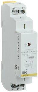 Реле OIR 1 контакт 16А, 24 В AC/DC (OIR-116-ACDC24V) | Реле промежуточное
