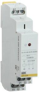 Реле OIR 2 контакта, 8А, 24 В AC/DC (OIR-208-ACDC24V) | Реле промежуточное