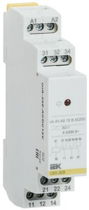 Реле OIR 3 контакта, 8А, 12 В AC/DC (OIR-308-ACDC12V) | Реле промежуточное