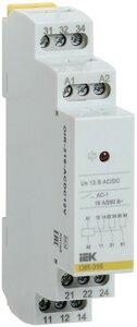 Реле OIR 3 контакта, 16А, 12 В AC/DC (OIR-316-ACDC12V) | Реле промежуточное