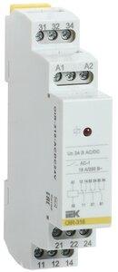 Реле OIR 3 контакта, 16А, 24 В AC/DC (OIR-316-ACDC24V) | Реле промежуточное