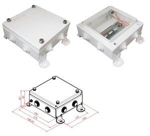 КМ IP54-1515, 8 вводов | Коробка монтажная электротехническая