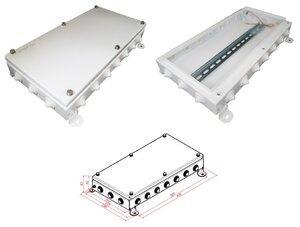 КМ IP54-2040, 20 вводов | Коробка монтажная электротехническая