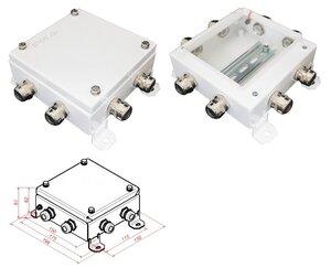 КМ IP66-1515, 8 вводов | Коробка монтажная электротехническая