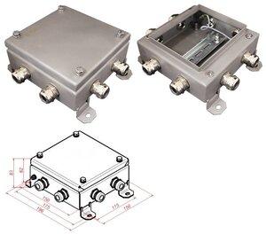 КМ IP66-1515, 8 вводов, нержавейка | Коробка монтажная электротехническая