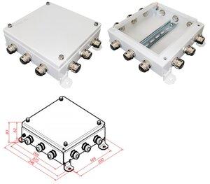 КМ IP66-2020, 12 вводов | Коробка монтажная электротехническая