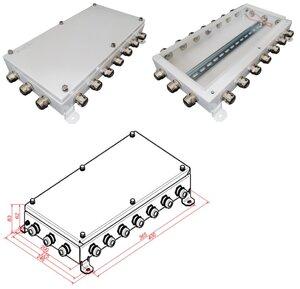 КМ IP66-2040, 20 вводов | Коробка монтажная электротехническая