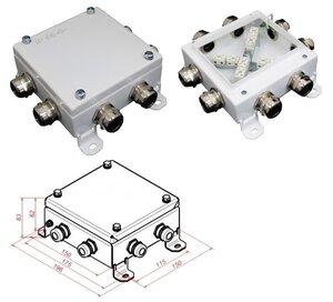 КМ-О (16к)-IP66-1515, 8 вводов | Коробка монтажная огнестойкая