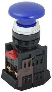 "Кнопка AEА-22 ""Грибок"" синий D=22 мм (BBG30-AEA-K07) | Кнопка"