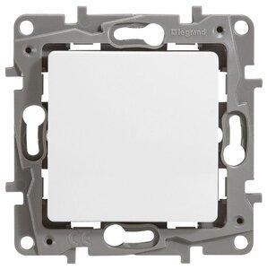 Выключатель 10AX-250В ETIKA, белый (672201) | Выключатель