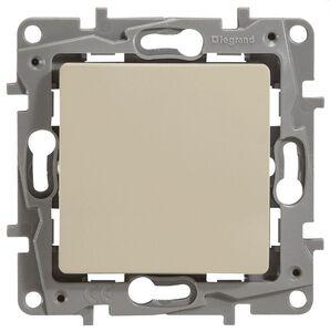 Выключатель 10AX-250В ETIKA, слоновая кость (672301) | Выключатель